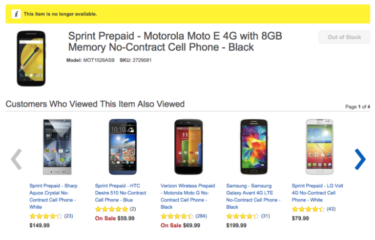 Best Buy Moto E